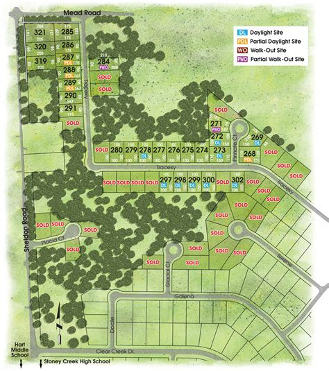 site plan arteva homes