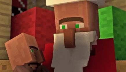 christmas with the villagers minecraft animation find