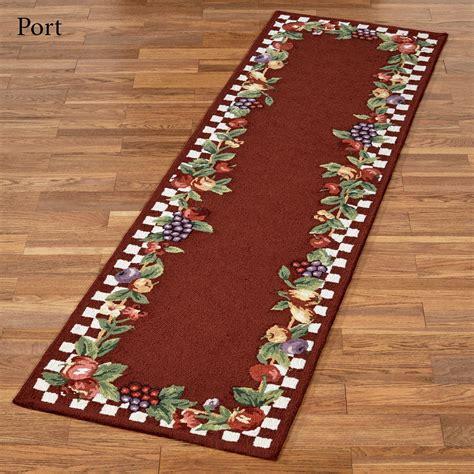 Fruit Rugs by Sonoma Hooked Fruit Rug Runners