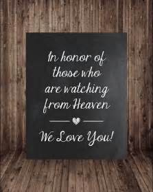 In Loving Memory Wedding Sign Wedding Signs 12 Best Images Page 10 Of 12 Cute Wedding Ideas