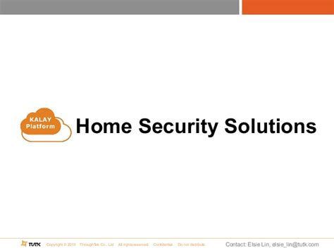 enhanced home security solutions kalay v2