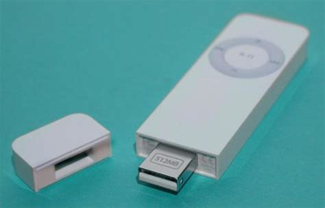 Sconnector Cordless Usb Connector For The Ipod Shuffle by Apple Ipod Shuffle Slide 4 Slideshow From Pcmag