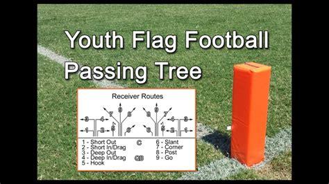 football tree youth flag football passing tree