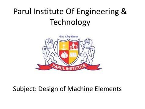 design of machine elements krishna rao ppt of design of machine element