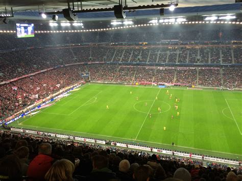 Allianz Arena Away Section by The View 69 Will Get You At C Nou Story In Comments