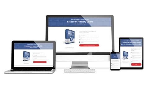 Facebook Marketing Sales Page The Landing Factory Elementor Landing Page Templates