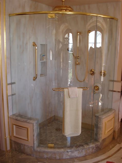 Curved Glass Shower Doors by Curved Glass Shower Doors Fordesign