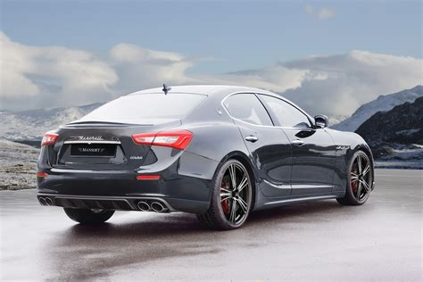 maserati mansory maserati ghibli receives the mansory tuning treatment