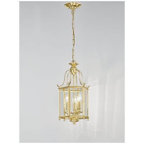 Brass Ceiling Lantern by Franklite La7006 3 Montpelier Polished Brass 3 Light Ceiling Lantern Ideas4lighting Sku803i4l