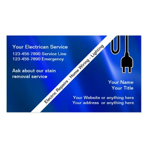 electrician business cards templates free 2 000 electrician business cards and electrician business