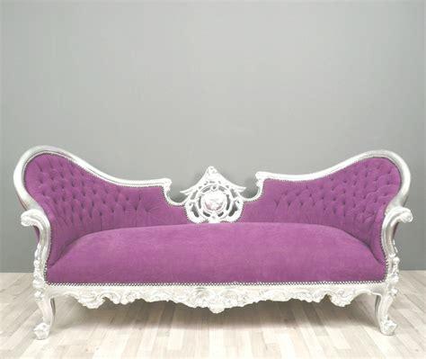 divani barocchi divano viola barocca lade