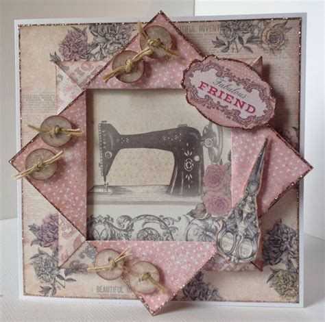 Sewn Cards Handmade - 25 best ideas about sewing cards on easy