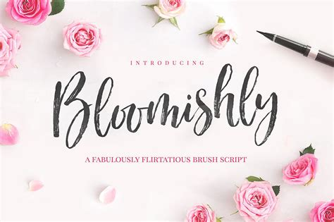 Wedding Font Brush by The Most Popular And Best Brush Script Fonts