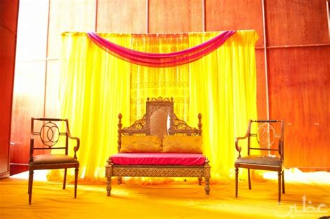 Simple Mehndi Stage Decoration by Mehndi Decorations 187 Uzbin Photography Cool Decor