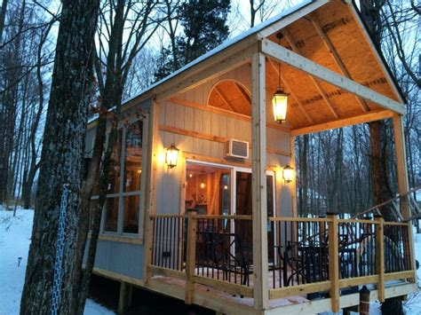 great outdoor lighting wilderness cabin grid living