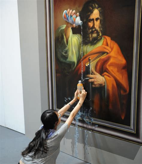 painting interactive 35 awesome 3d interactive paintings magic works at