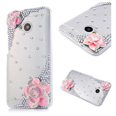 Handcrafted Phone Cases - new 3d handmade bling clear rhinestone