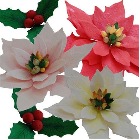 decorations poinsettia 174 best images about gumpaste poinsettia on