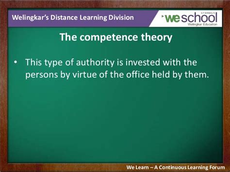 pattern of authority meaning delegation of authority