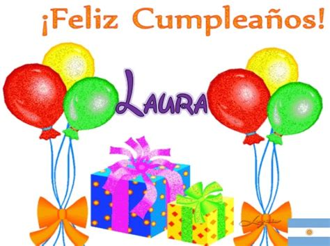 Imagenes De Cumpleaños Laura | feliz cumplea 241 os laura f