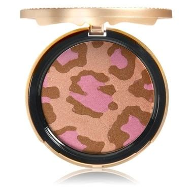Faced Pink Leopard Bronzing Powder by Pink Leopard Blushing Bronzer Faced Mecca
