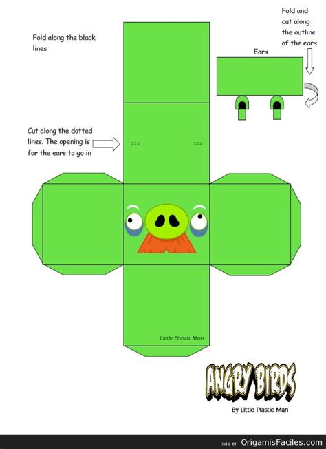 Angry Birds Papercraft - angry birds papercraft pictures to pin on