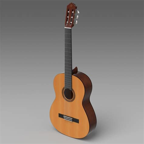 Gitar Classic Yamaha C 390 Original Best Product 3d classical guitar yamaha c40 model
