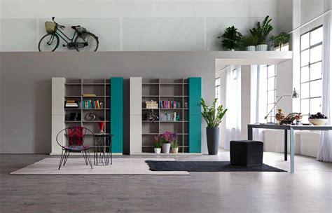 librerie salotto composizione moderna per salotto con libreria idfdesign