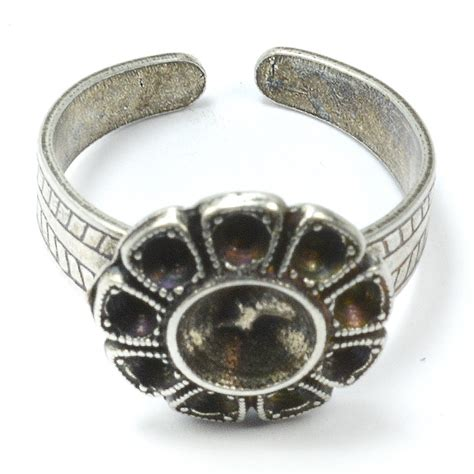 ring bases for jewelry 5 flower ring base for handmade jewelry ebay