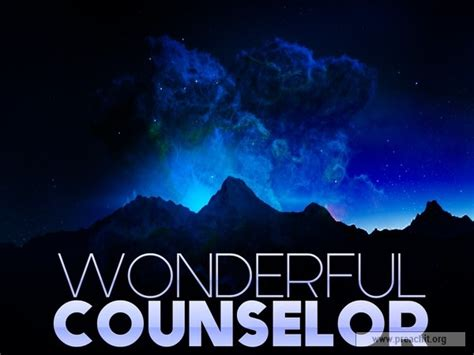 1 Samuel 30 6 Sermon Outline by Sermon By Topic Wonderful Counselor