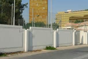 modern boundary wall boundary walls modern design