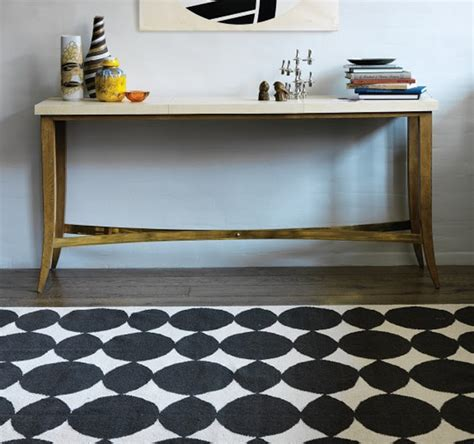 Dwell Studio Rug by Black White Yellow Dwell Studio Almond Inks Rug