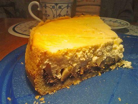 birnen quark kuchen birnen mohn quark kuchen rezept mit bild knolau