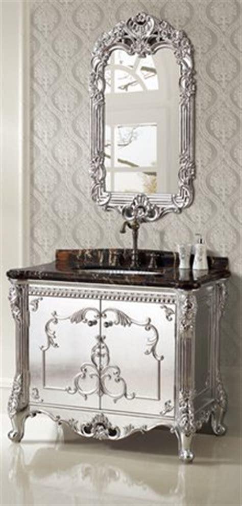 selection  designer bathroom vanities  metallic
