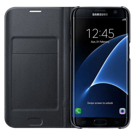 Samsung Galaxy Led Flip Wallet Original original samsung galaxy s7 edge led flip wallet cover