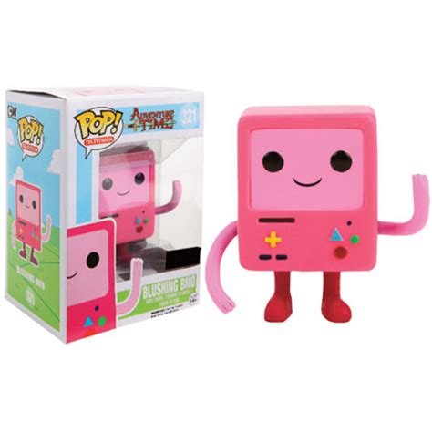 Pop Nosh The Other Blogs Edition by Adventure Time Pop Vinyl Figure Bmo Pink Forbidden Planet