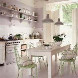 Shabby Chic Kitchen Lighting Style Kitchen Room Envy