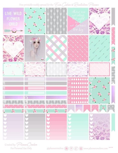 printable planner accessories best 20 free printable stationery ideas on pinterest
