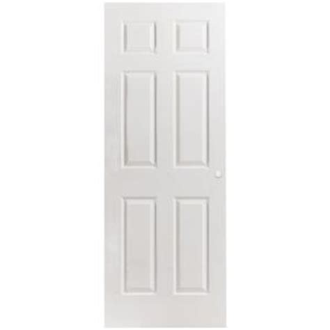hollow core interior doors home depot masonite 24 in x 80 in primed textured 6 panel hollow