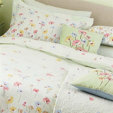 floral bed linen uk vintage floral green quot poppy quot bedding bed linen duvet