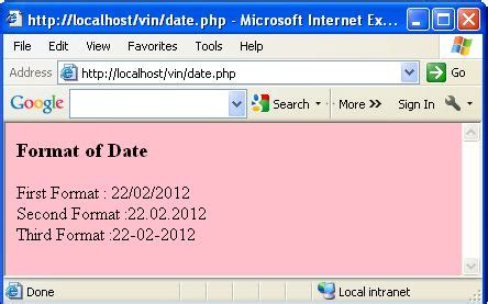Date Format In Php | formatting sql timest php image search results