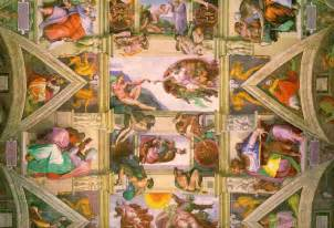 What Is Painted On The Ceiling Of The Sistine Chapel by Comics In Visual Arts The Sistine Chapel Ceiling By