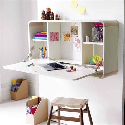 Wall Mounted Desk Ideas Trendy Desk Designs For The Children S Rooms