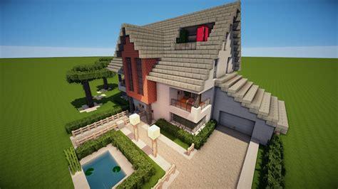 haus der ideen biessenhofen charmant minecrafthaus minecraft modern house 9 modernes