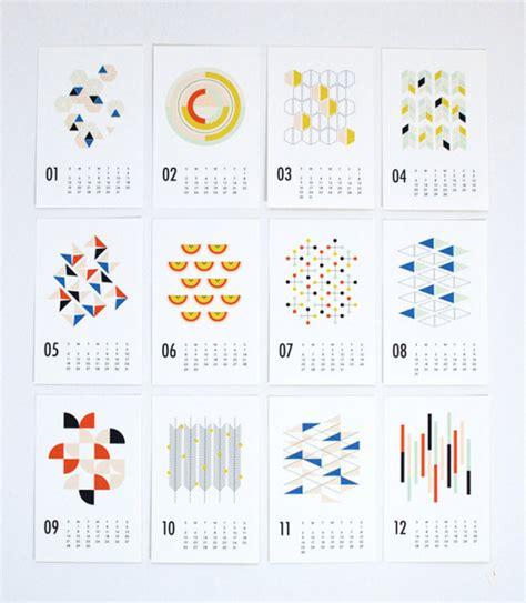design milk calendar 25 modern calendars for 2014 design milk