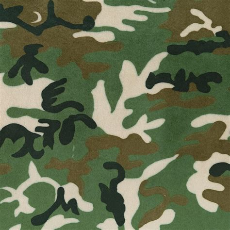 green camo green camouflage minky fabric by the yard black fabric