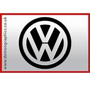 VW Badge  &163199 Car Graphics By Demon
