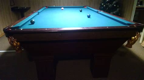 antique brunswick pool tables identify an antique brunswick pool table