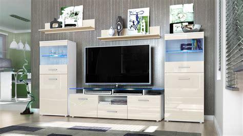 white gloss wall units living room wall unit living room furniture almada white high gloss tones ebay