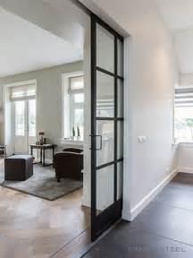 interior steel door best 25 sliding doors ideas on sliding door